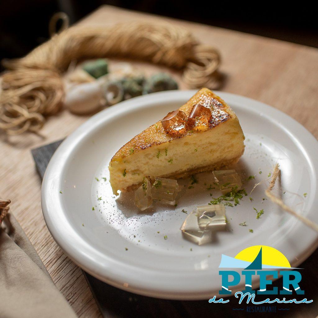 Cheesecake de Caipirinha